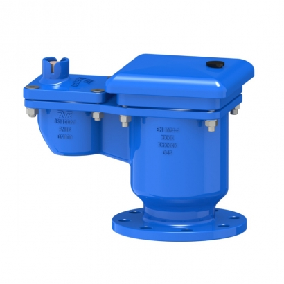 AVK Double Orifice Ductile Iron Air Valve