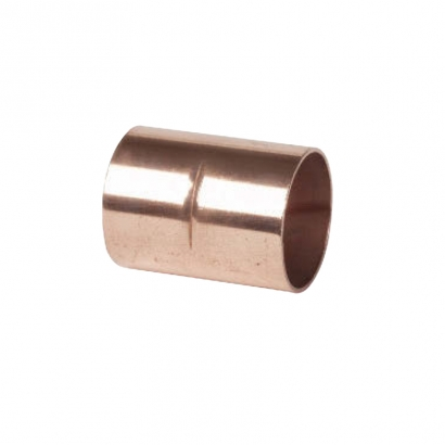 Conex Delcop Copper Fitting End Feed Capillary Straight Coupling