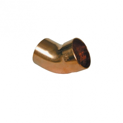 Conex Delcop Copper Fitting End Feed Capillary Elbow 45°