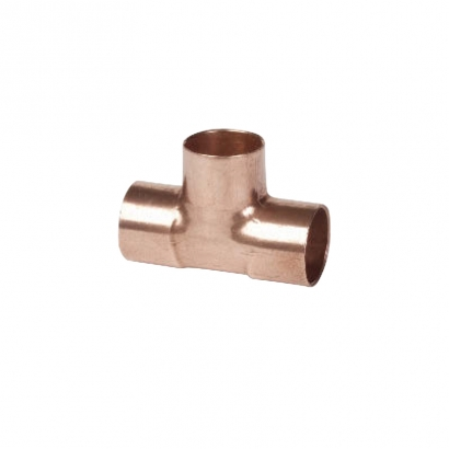 Conex Delcop Copper Fitting End Feed Capillary Equal Tee