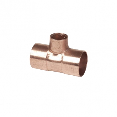 Conex Delcop Copper Fitting End Feed Capillary Reducing Tee