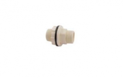 Eurapipe CPVC Tank Nipple With One Side Pipe Fitment (316P)