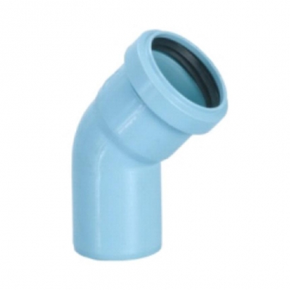 Silenta 3A Pipe PP Low Noise Elbow 15 Degree