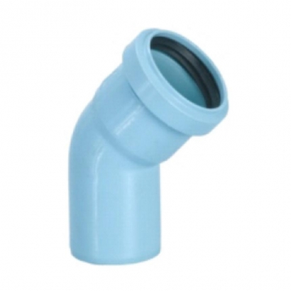 Silenta 3A Pipe PP Low Noise Elbow 45 Degree