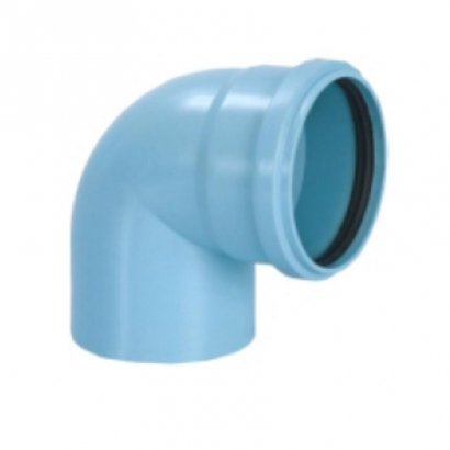 Silenta 3A Pipe PP Low Noise Elbow 87 Degree