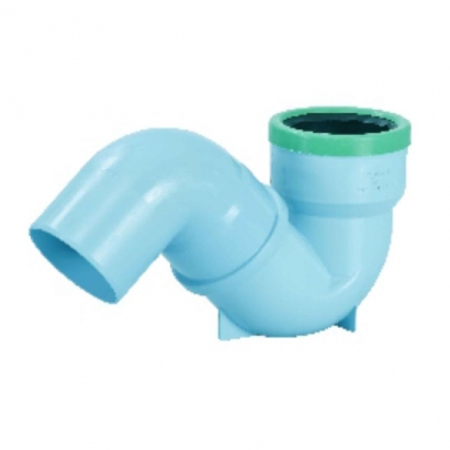 Silenta 3A Pipe PP Low Noise S Siphon 45 Degree