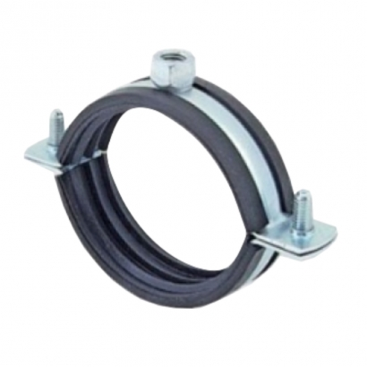 Silenta 3A Pipe PP Low Noise Pipe Clamp with Nuts