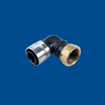 Buteline PE System for Cold Water Series Elbow Female Swivel EF