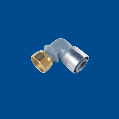 Buteline PB System for Hot and Cold Water Series Elbow Female Swivel EF