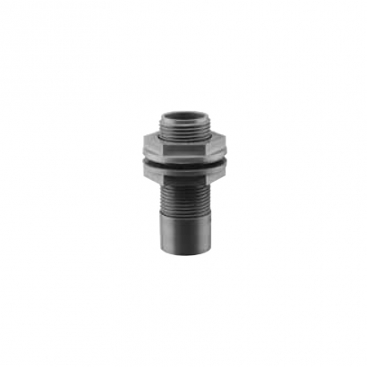 Paling PVC Fitting Pressure Piping Tank Connector with Straight Backnut