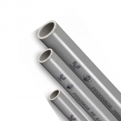 Paling PVC Pipe Pressure Piping System Series Pipes Plain Ended PN12 Class D